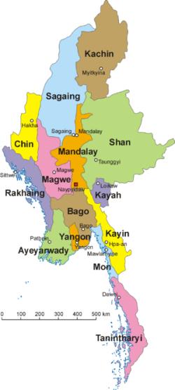 09052017 Myanmar Map